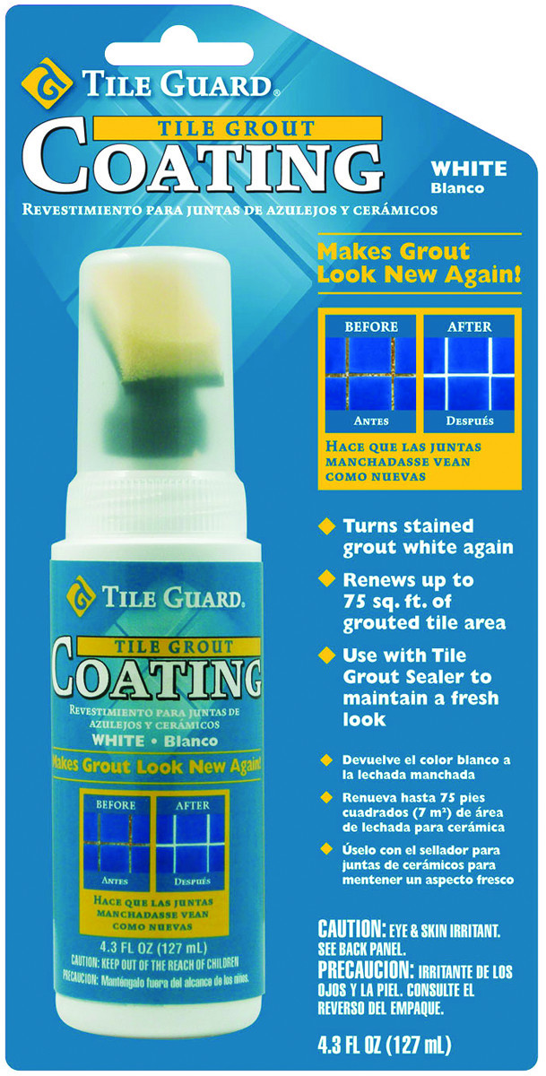 Homax 9310 Tile Guard White Grout Coating 4 3 Ounce