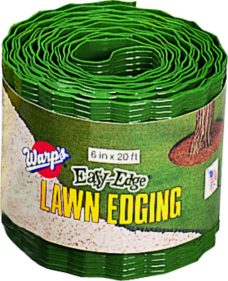 Warp Brothers Le620g Easy Edge Landscape Edging Plastic 6 Inch By 20 Foot 042351455207 1