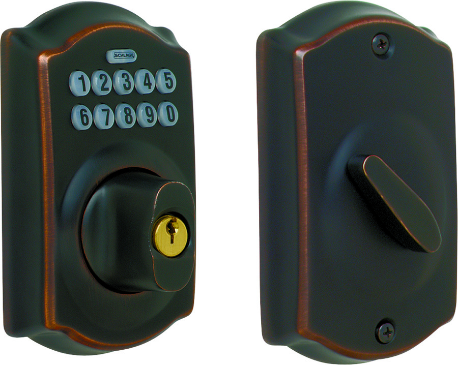 Schlage Lock Be365v Cam 716 Camelot Collection Keypad
