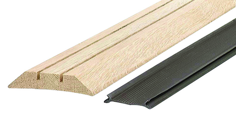 Md Building Products 11783 Oak Threshold With Vinyl Lowboy 36 Inch 043374117837 1