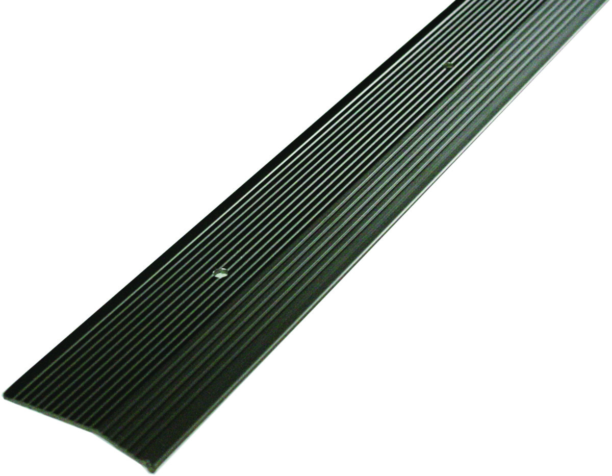 Md Building Products 43860 2 Inch Wide By 72 Inch Long Pewter Fluted Carpet Trim 043374438604 1
