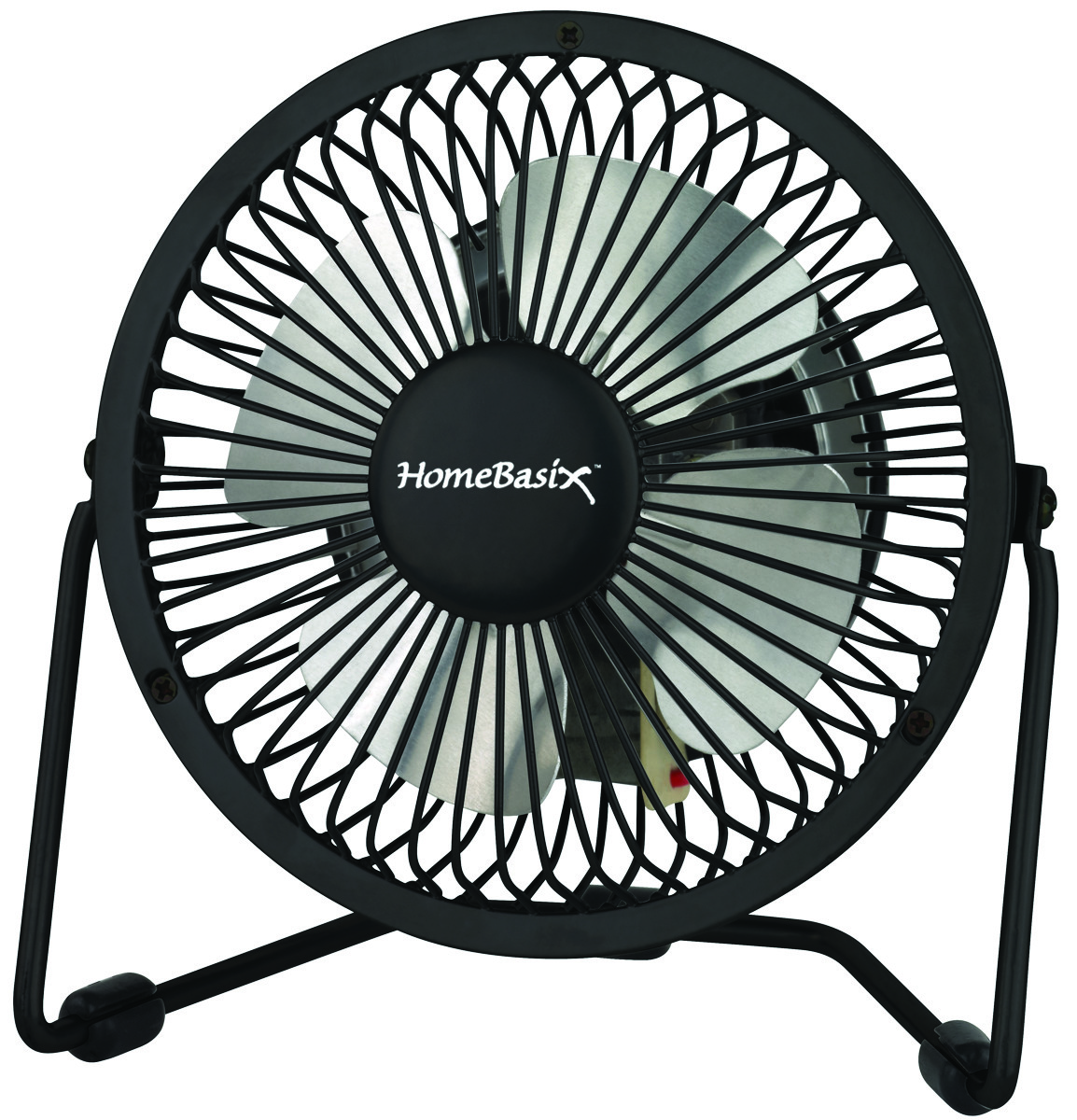 Power Zone CZHV4RSB-BK Fan Mini Black 4 Inch 1 Speed