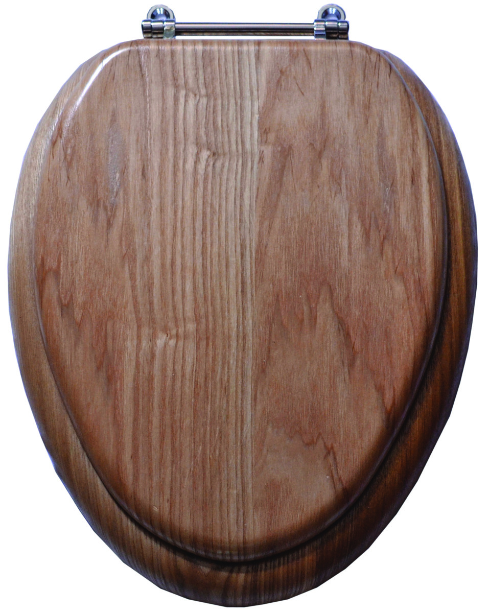 Picture of: Prosource T 19wo 3l C Toilet Seat Elongated Natural Oak Finish 19 Inch 045734636873 1