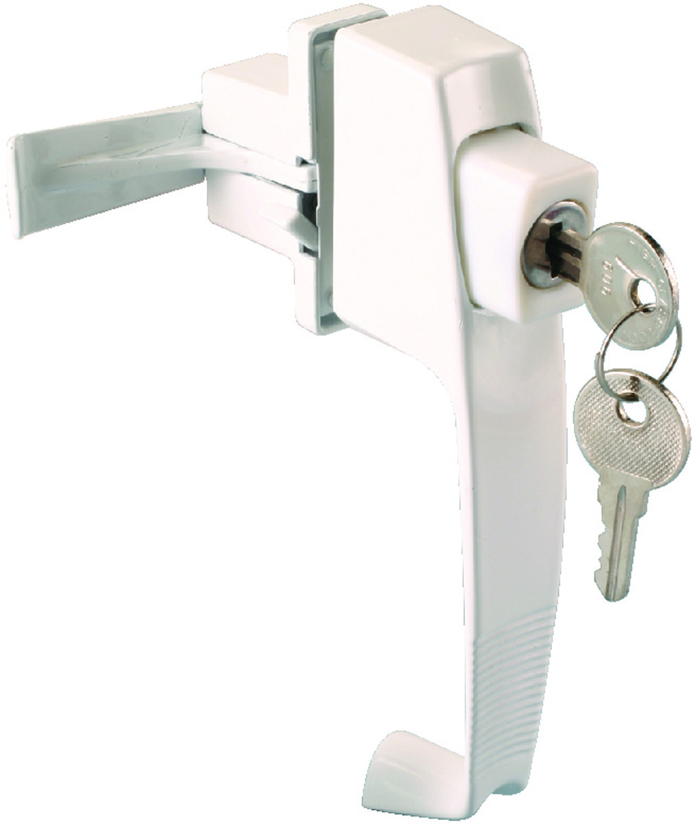 Prosource 47015 Ukw Ps Storm And Screen Door Latch Push Button Keyed