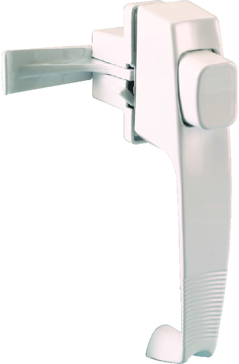 White Prosource 31604-UW-PS Storm//Screen Door Latches