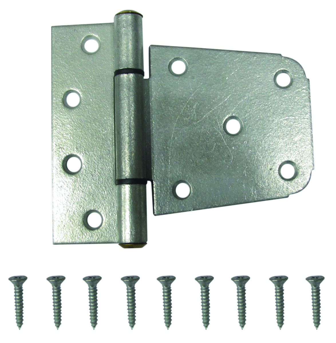 ProSource LR-182-PS Gate Hinge Heavy Duty Galvanized Steel 3-1/3