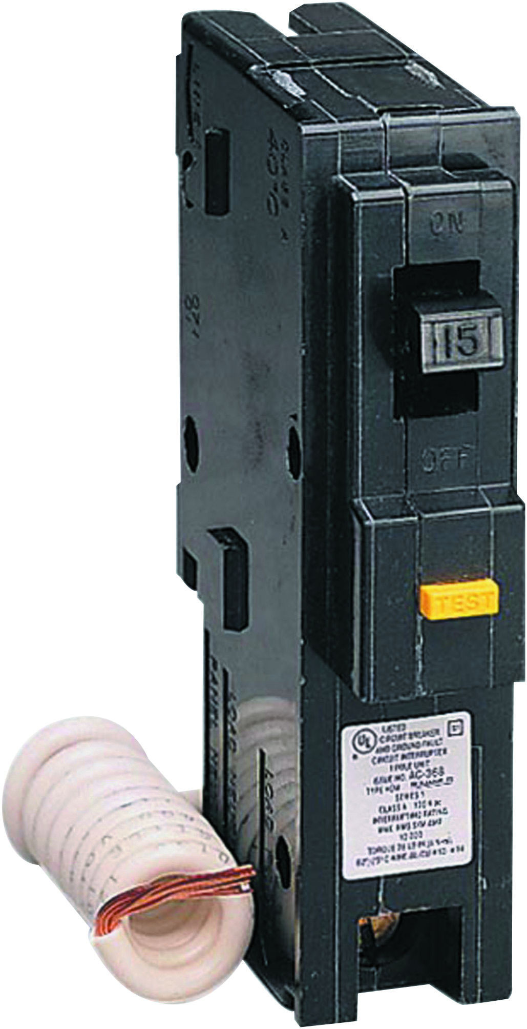 Square D Homeline 60 Amp Gfci Breaker 50 2pole Circuit Breakerhom250gficp The Home Depot Hom115gficp 15 1 Pole Gfc