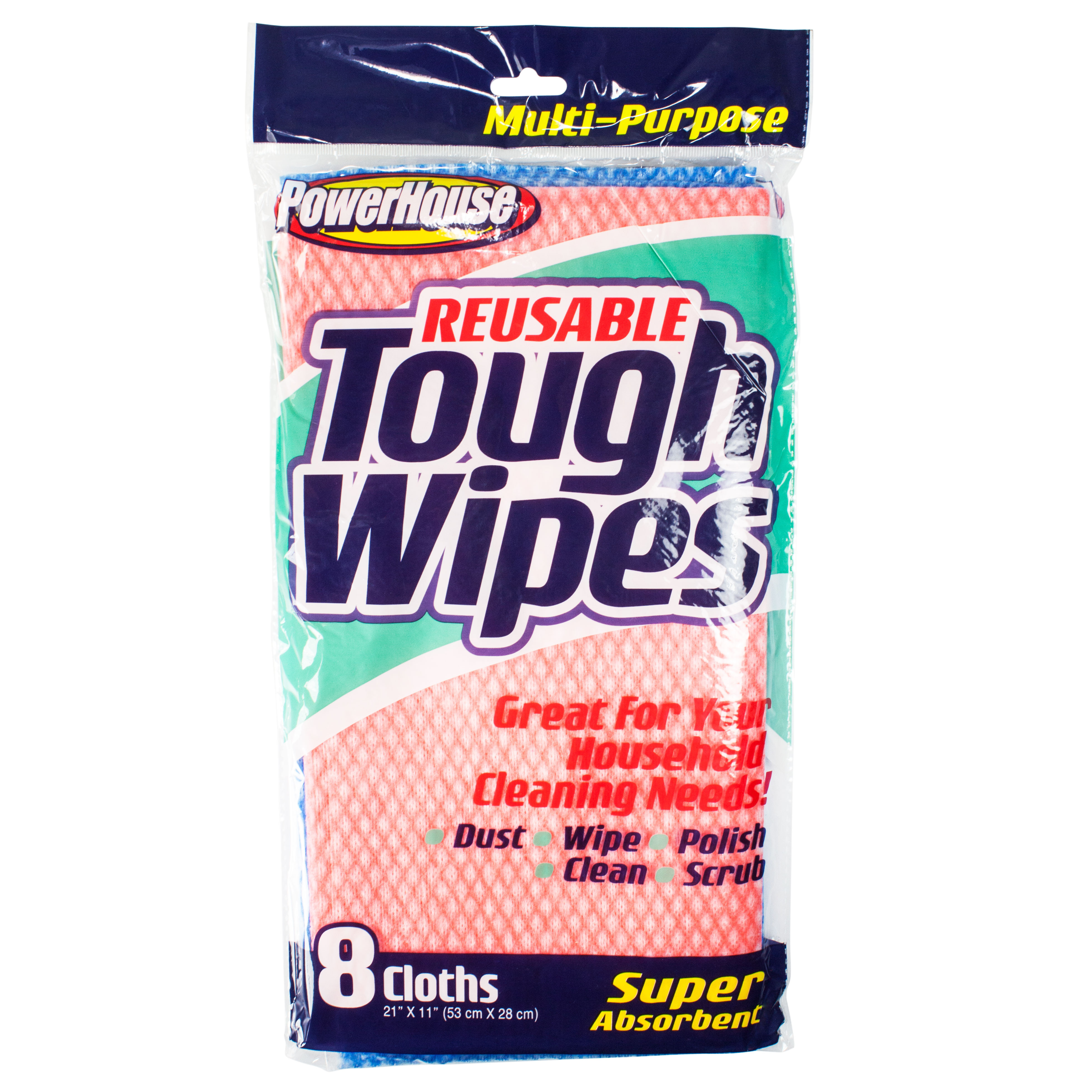 Delta Brands Products Llc 92533 5 Reusable Tough Wipes Pack Of 8