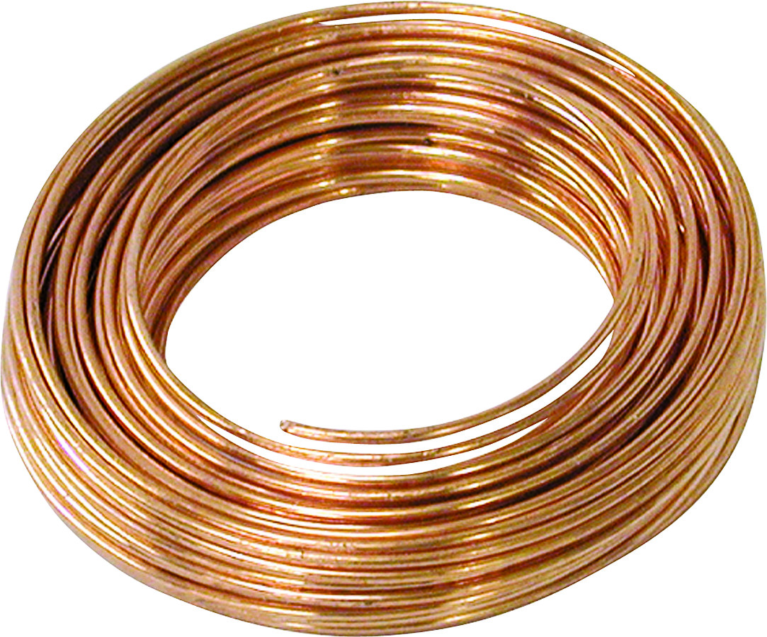 Hillman 50161 Ook Copper Wire 18 Gauge 25 Foot (049223501611) [1]