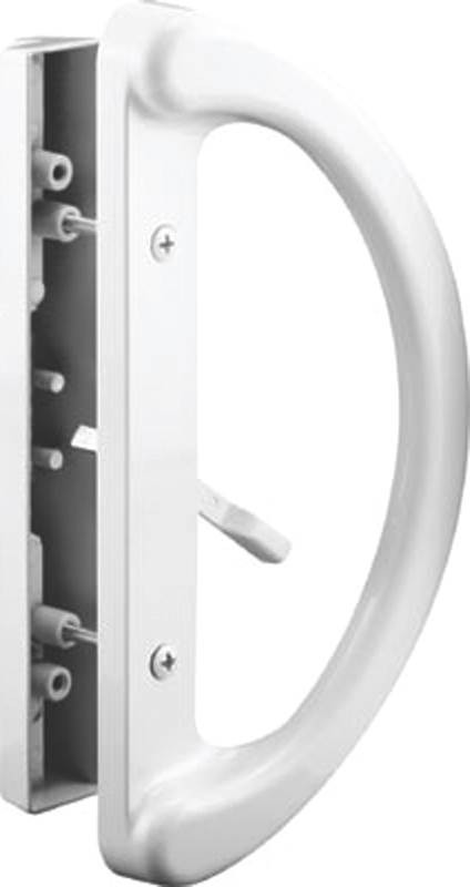 Prime Line C 1225 Sliding Glass Door Handle Mortise White