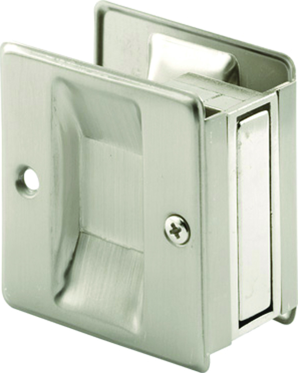 Prime Line N7238 164158 Passage Notched Pocket Door Pull 2 12 Inch