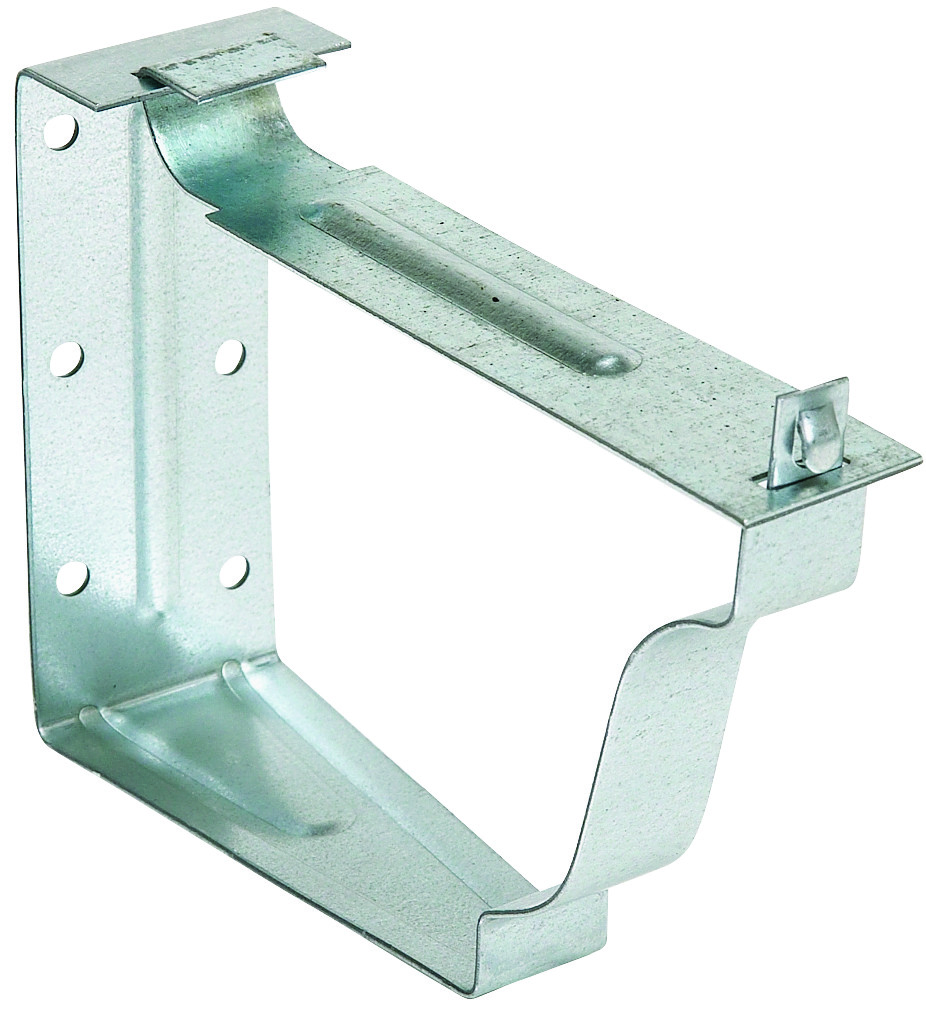 """Amerimax 5/"""" Mill Finish Roof Hanger With Strap Lot of 2 4 brackets each"""