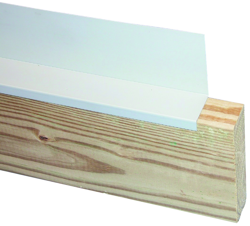 AMERIMAX HOME PRODUCTS 37028 8-Feet Deck Ledger Flashing