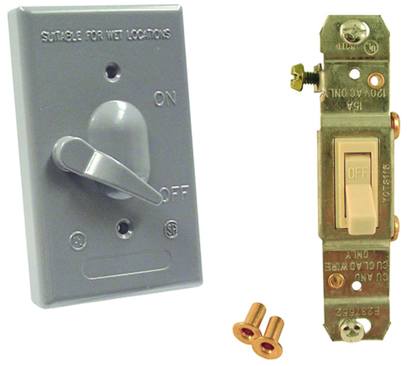 Hubbell Electrical 5121 5 Bell 1 Gang Vertical Switch Cover