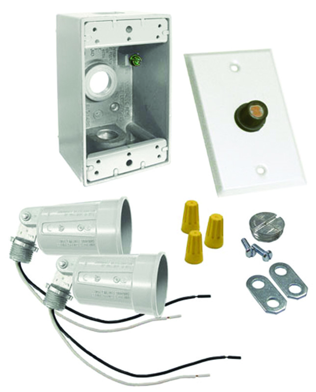 Hubbell Electrical 5883-6 Bell Flood Light Kit With