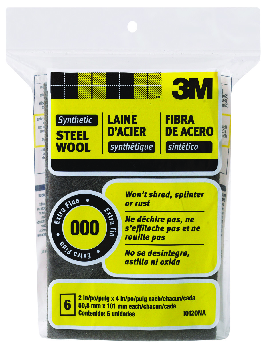3m synthetic steel wool project box lowes