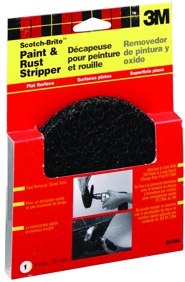 3M 9410 Scotch Brite Paint And Rust Remover Sanding Disc 5 Inch