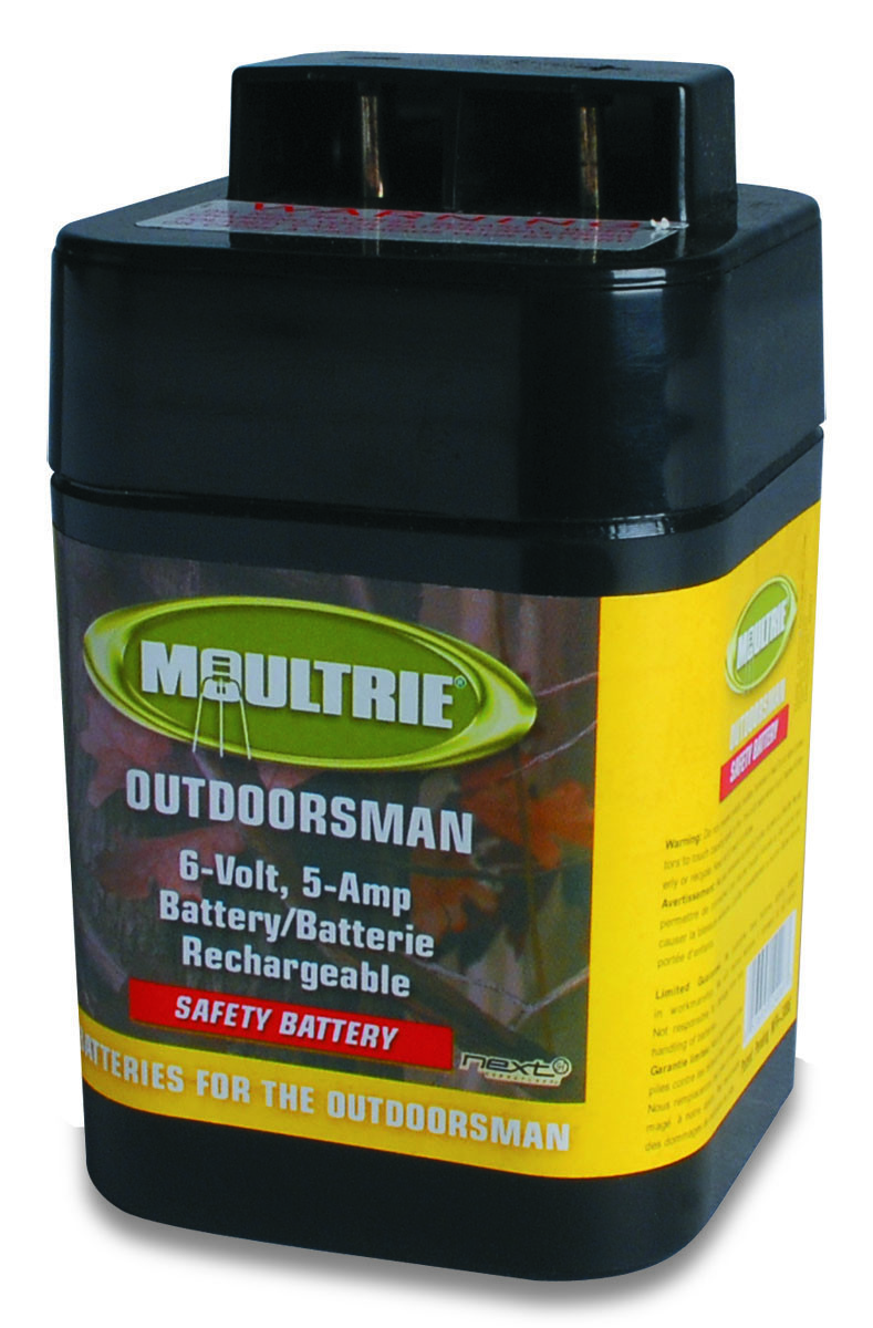 Moultrie MFHP12406 Battery Rechargeable Safety 6V