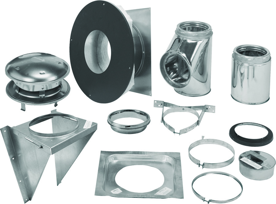Selkirk 206622 6 Inch Thru The Wall Support Kit