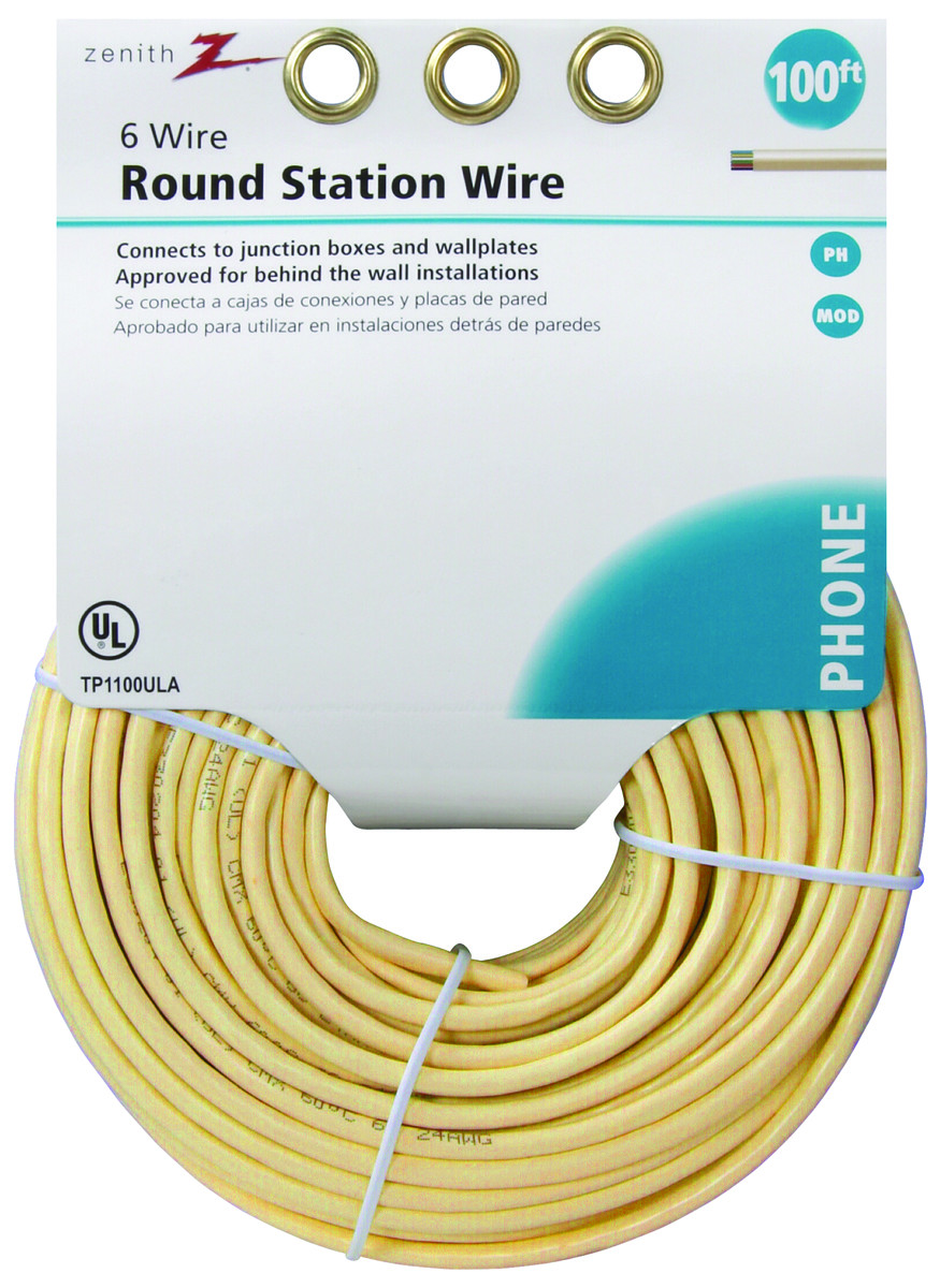 Telephone Wiring Accessories Library Junction Box Bq American Tack Hardware Tp1100ula Zenith Wire Round 100ft
