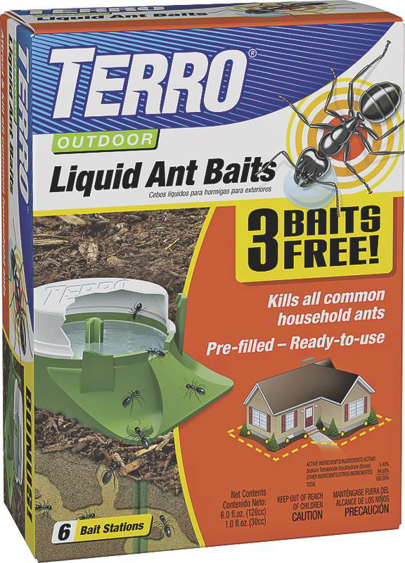 Outdoor Liquid Ant Bait 6 Pack Tap To Expand 1