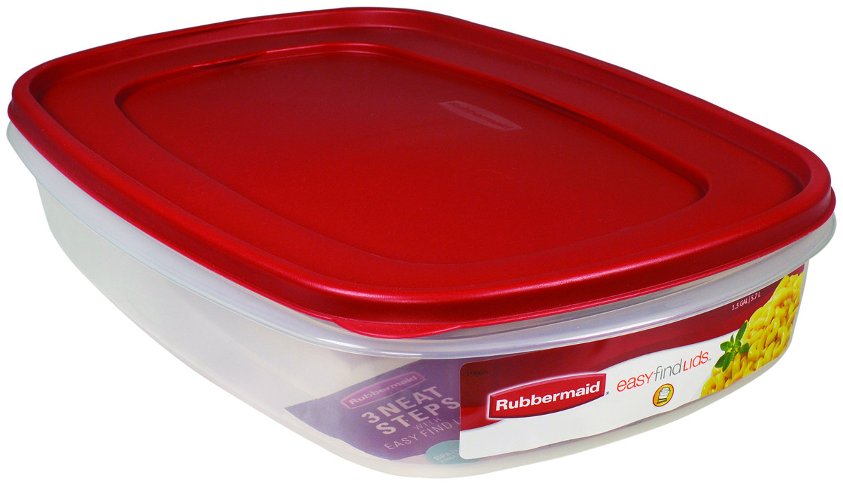Rubbermaid Home 7J76 00 CHILI Servin Saver 1 12 Gallon Food Storage