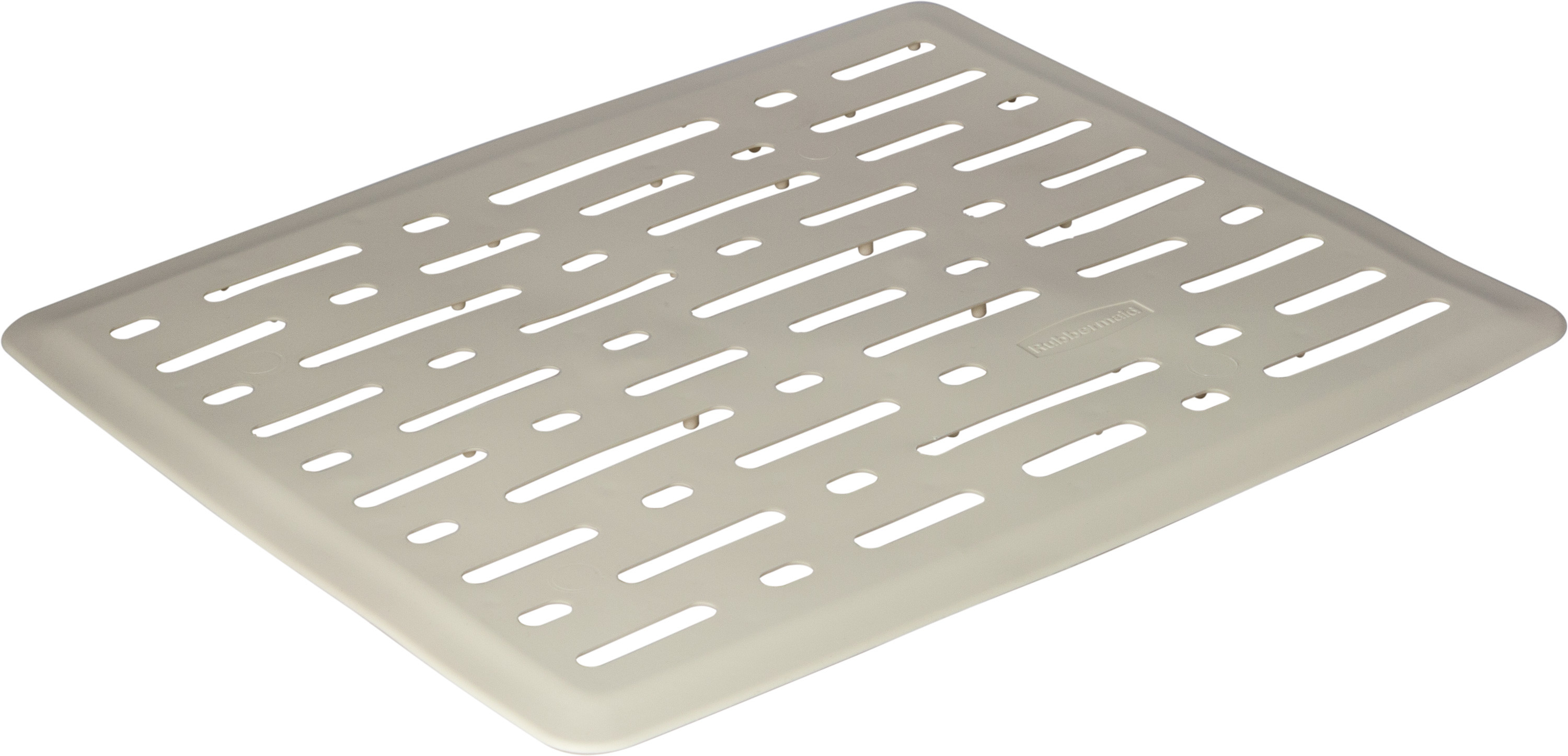 Rubbermaid Home 1G1706BISQU Small Bisque Beige Sink Mat. Tap To Expand