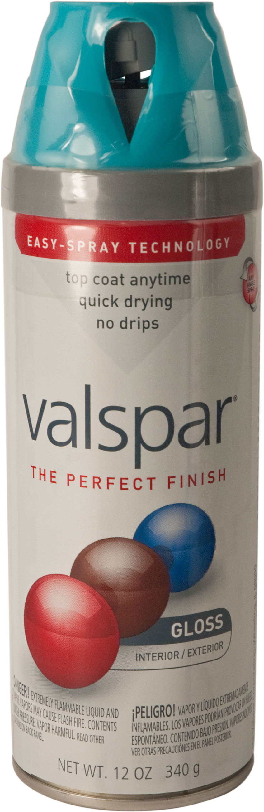Valspar 85201 Premium Exotic Sea Gloss Multi Surface Spray Paint Tap To Expand