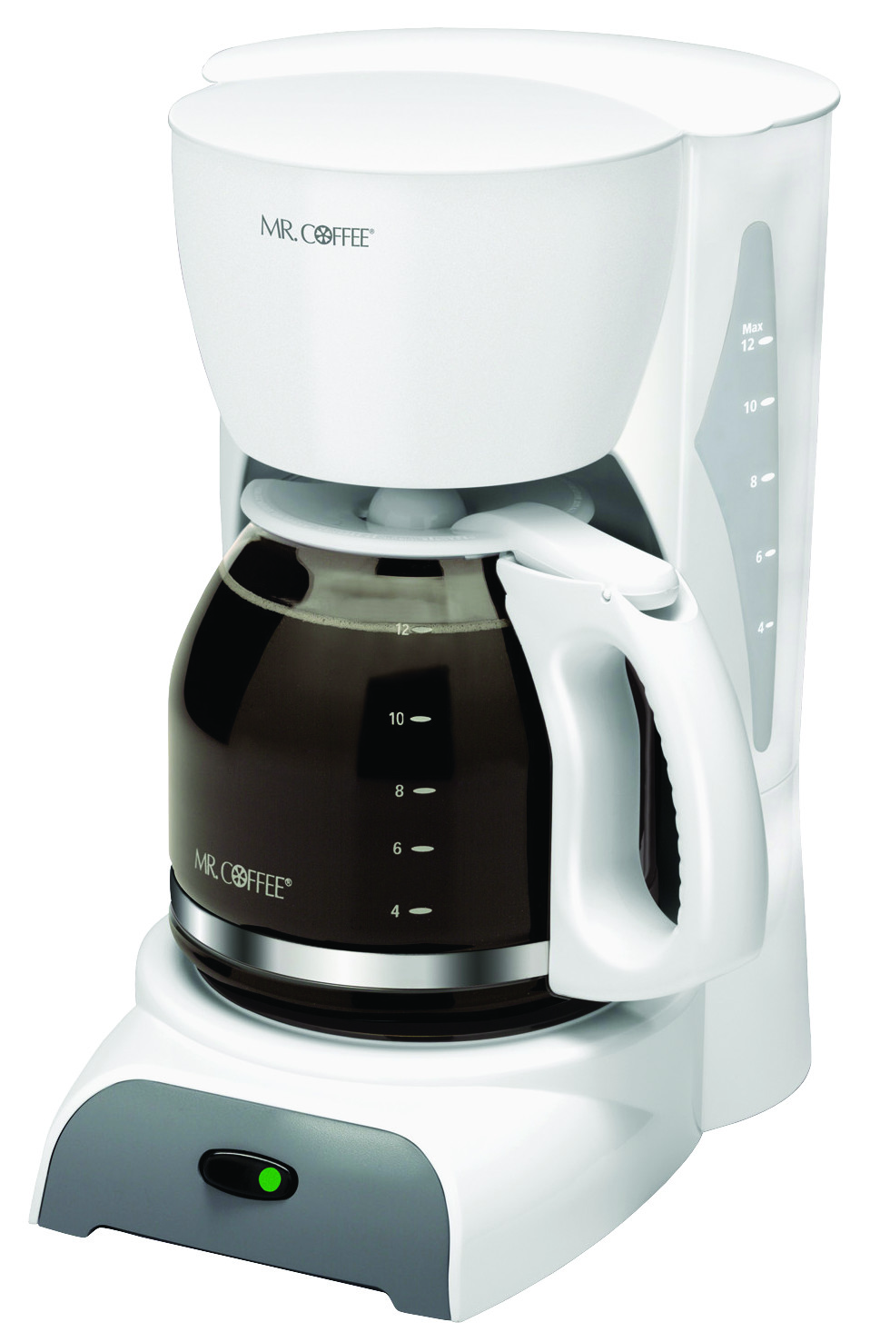 Mr Coffee Sk12 Rb Coffee Maker White 12 Cup 072179230267 1