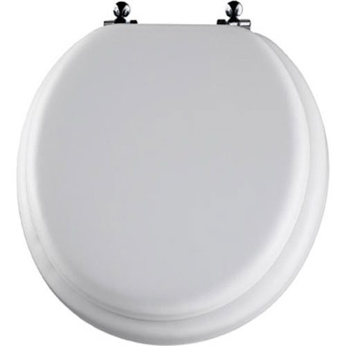Cool Bemis 13Cp 000 Deluxe Soft Toilet Seat Chrome Pabps2019 Chair Design Images Pabps2019Com