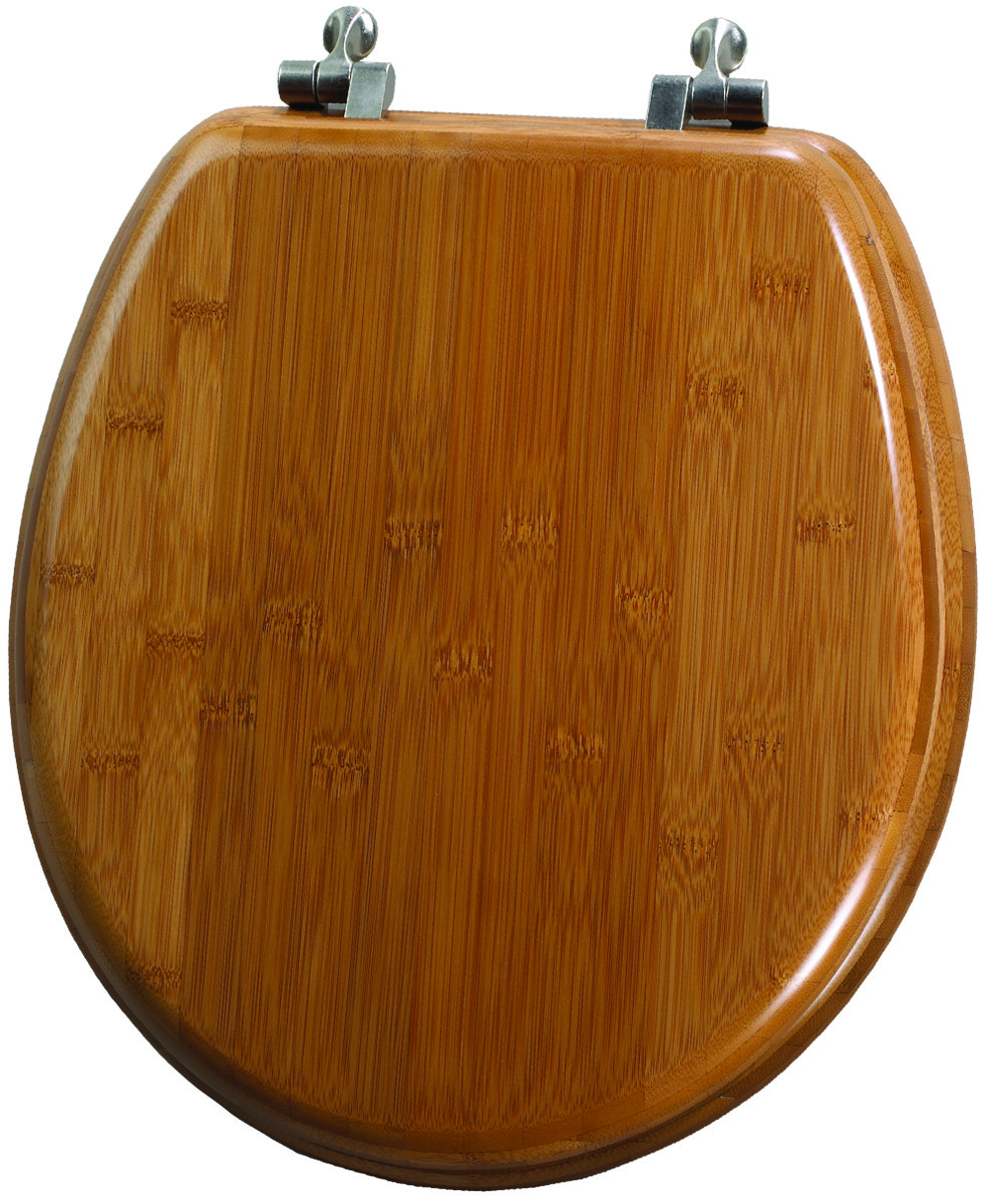 Superb Bemis 9401Ni 568 Toilet Seat Rnd Bamboo Ocoug Best Dining Table And Chair Ideas Images Ocougorg