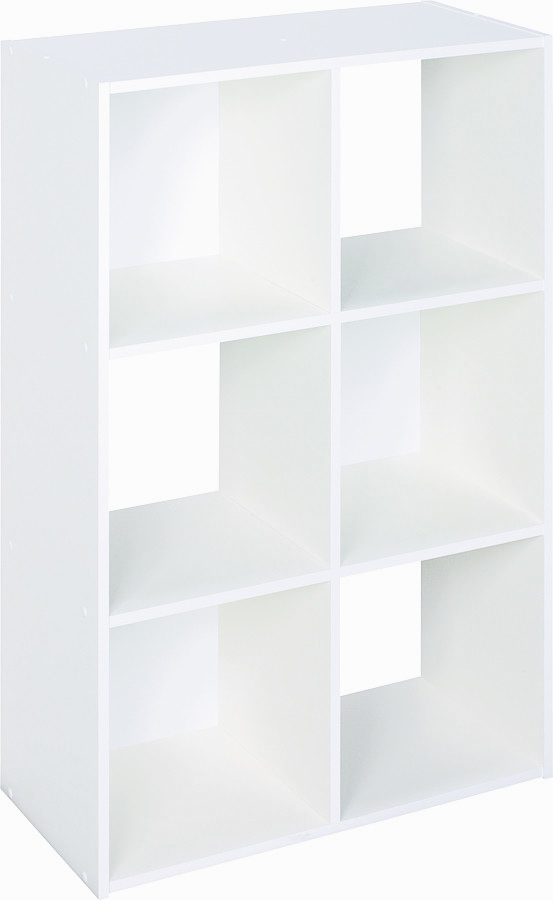 Closet Maid 899600 6 Cube White Organizer. Tap To Expand
