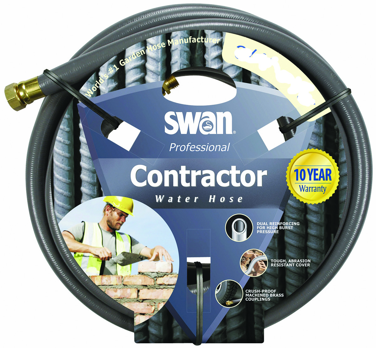 Colorite Swan SNCG34075 Garden Hose Commercial 3/4 Inch By 75 Foot. Tap To  Expand