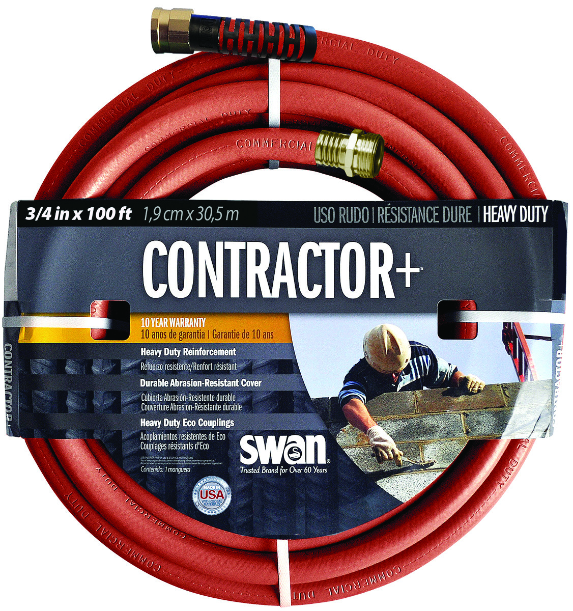 Colorite Swan Sncg34100 Garden Hose Commercial 3 4 Inch By 100