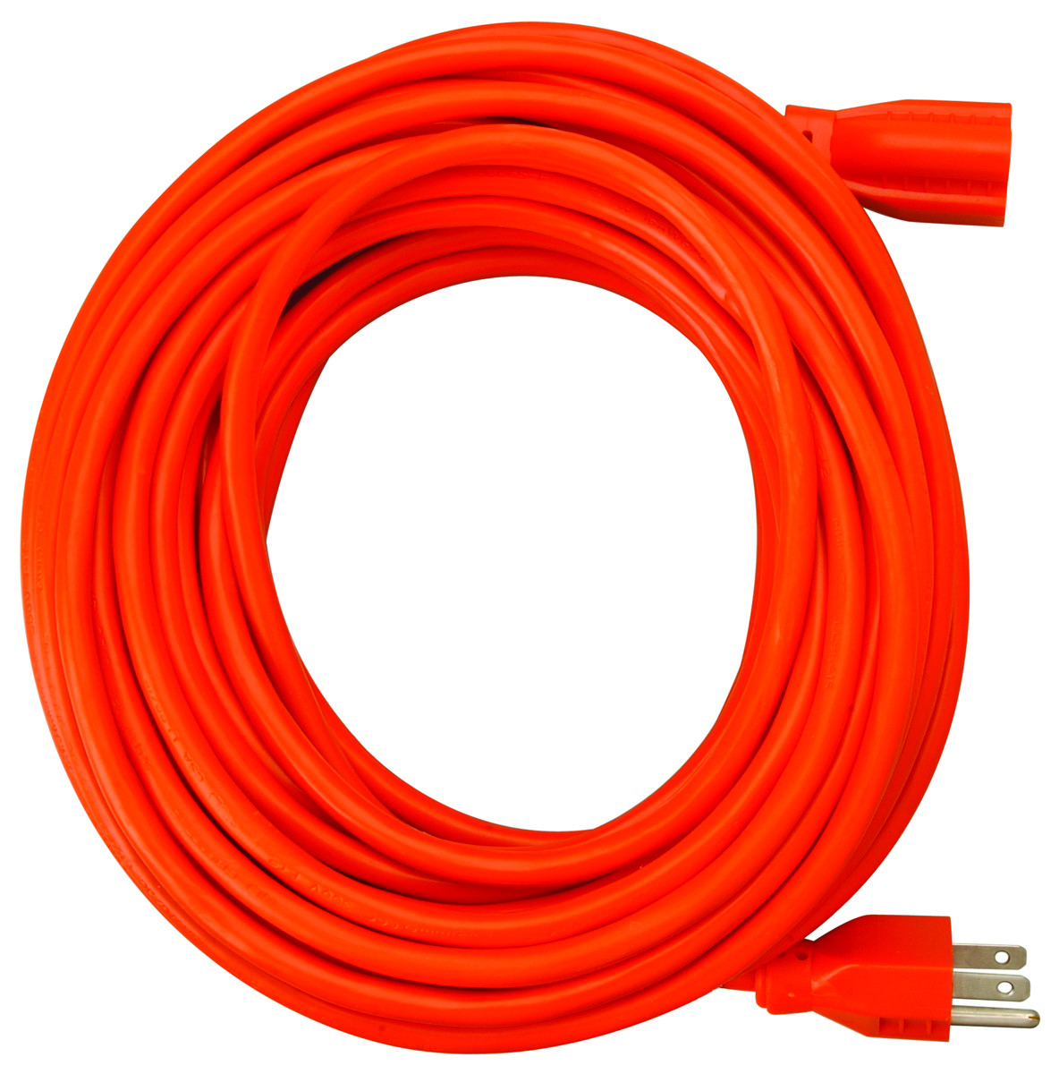 Coleman Cable 0517 50 Foot 10/3 Sjtw Extension Cord Org ...