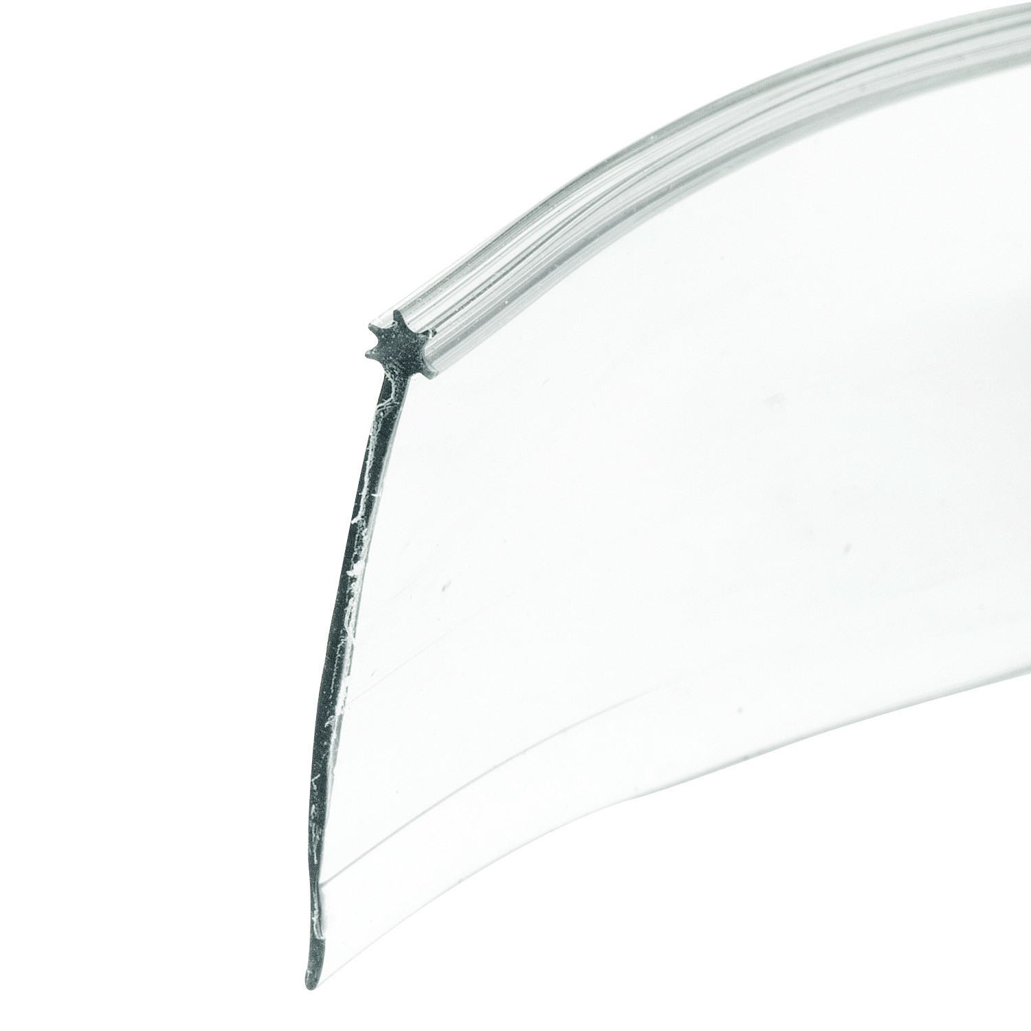 Prime Line M6227 194237 Clear Shower Door Bottom Seal With Star Top