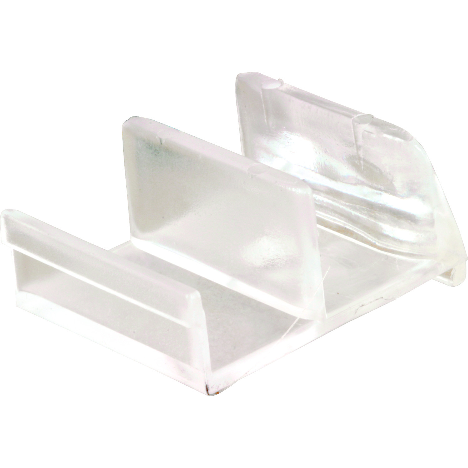 Prime Line M6111 193074 Clear Shower Door Bottom Guide 078874930747