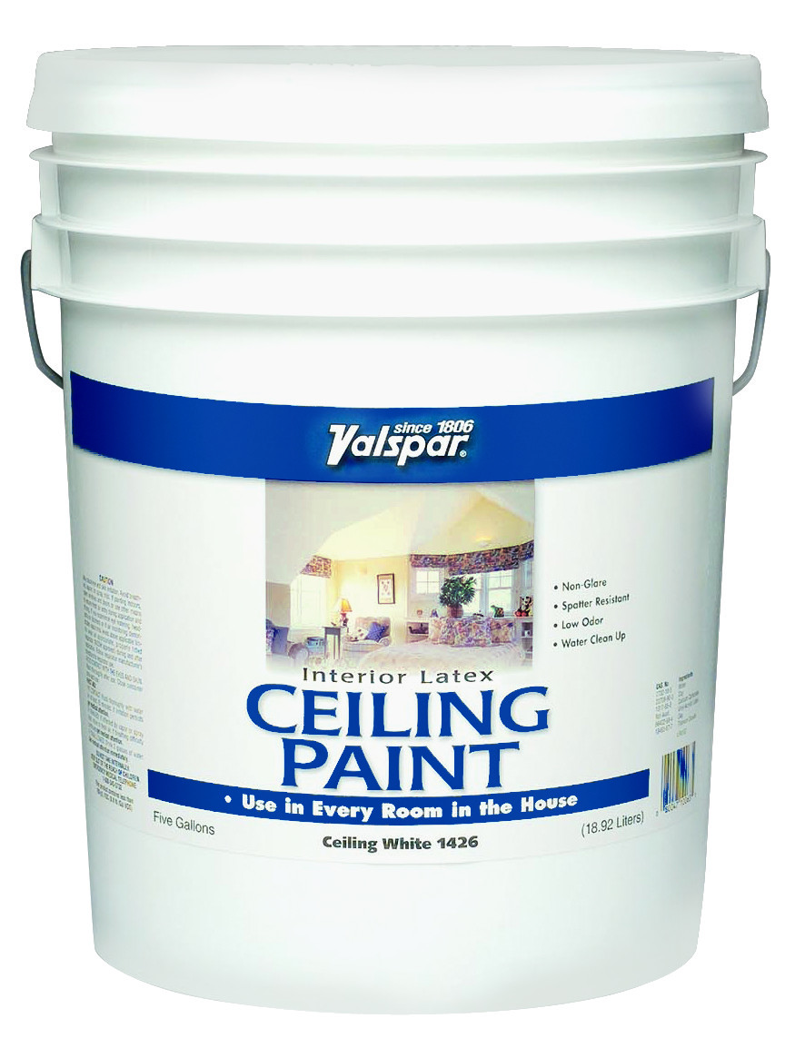 Valspar 1426 5 Gallon White Ceiling