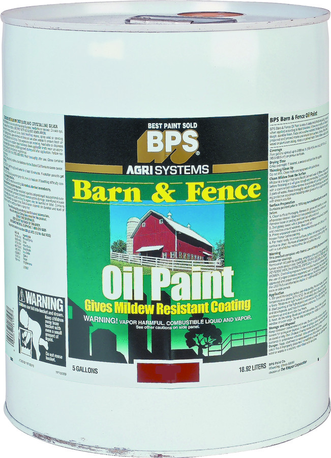 Valspar 018 2125 11 008 Barn Fence Paint Oil Red 5 Gallon 080047181047 1