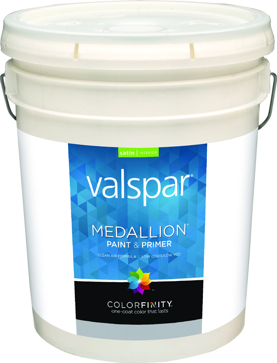 Valspar 3400 Medallion Paint Interior Satin Latex White 5 Gallon 080047273001 1