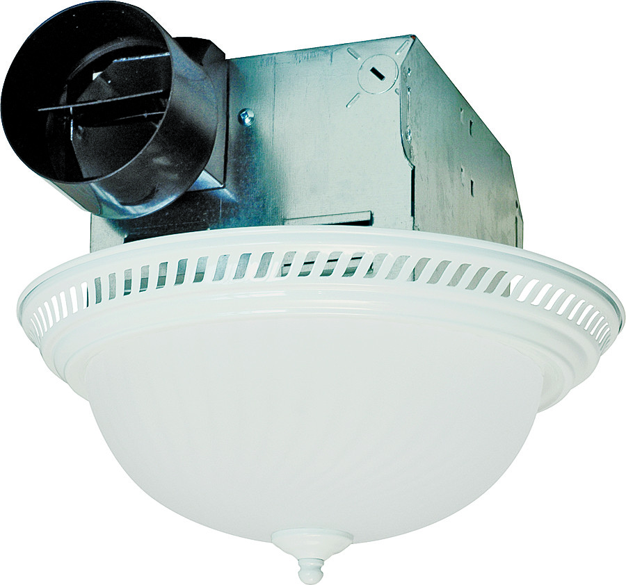 Air king drlc703 fan light bath combo 70cfm wht 083162274113 1 for Air king bathroom fan light combo