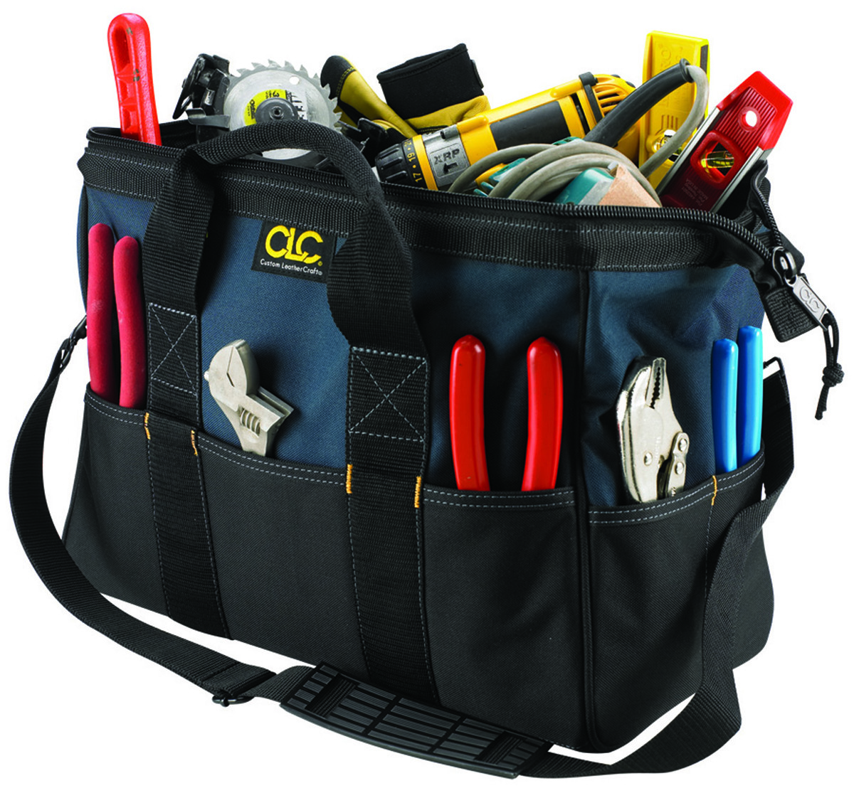 8c7589b7689 Hand Tools Tool Boxes, Bags, Holders & Sets Compartmented Tool Bags  Closeable Top