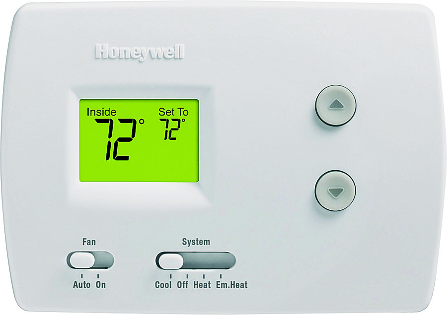 What Is Auxiliary Heat >> Honeywell Yrth3100c 1011 Digital Heating And Cooling Thermostat