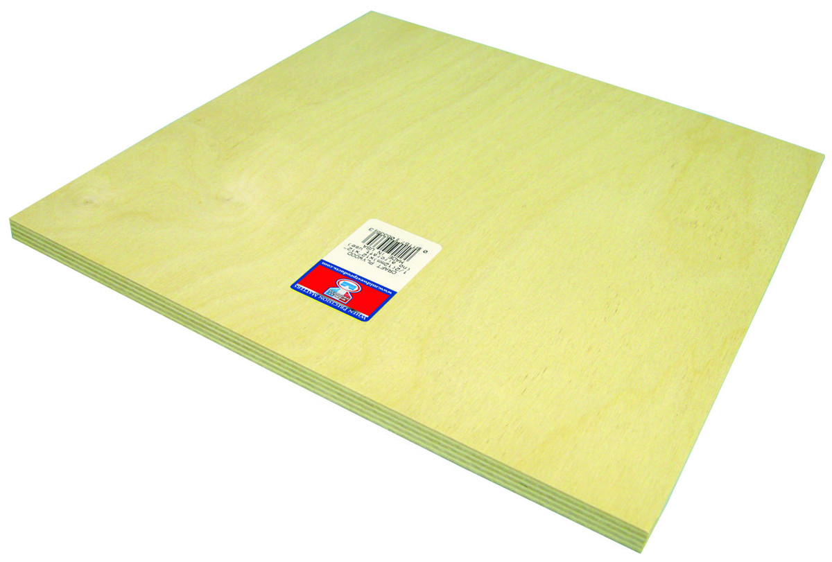 Midwest Products 5335 1/2X12x12 Birch Plywood