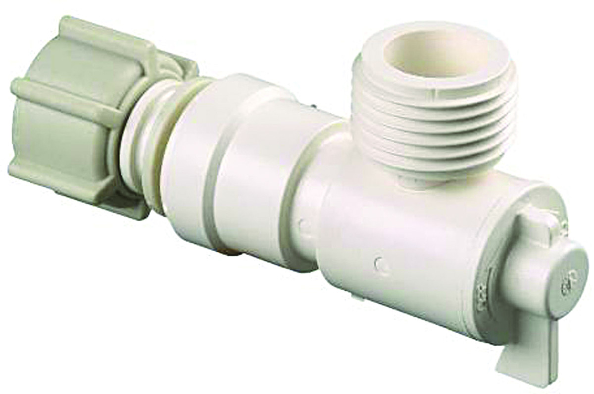 Watts Water P 682 Water Supply Line Angle Valve Quick Connect For
