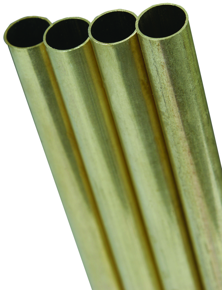 "K/&S Solid Rod 0.020/"" X 12/"" Brass Pack"