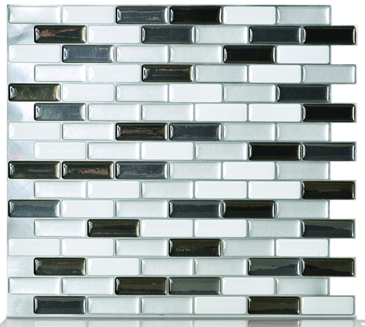 Quinco SM1030-1 Smart Tiles Metallik Murano Mosaik Self Adhesive ...
