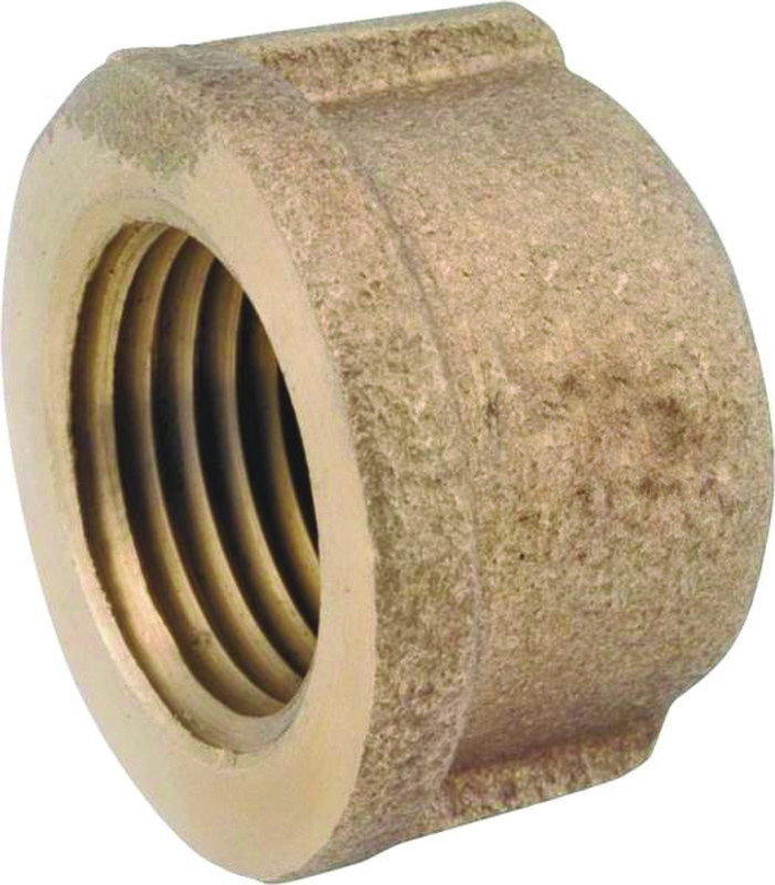 Anderson Metals 738103-16 1-Inch   Low Lead Pipe Coupling Brass