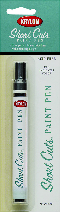 Red Short Cuts Paint Pen Marker by Krylon no SCP-903 NEW