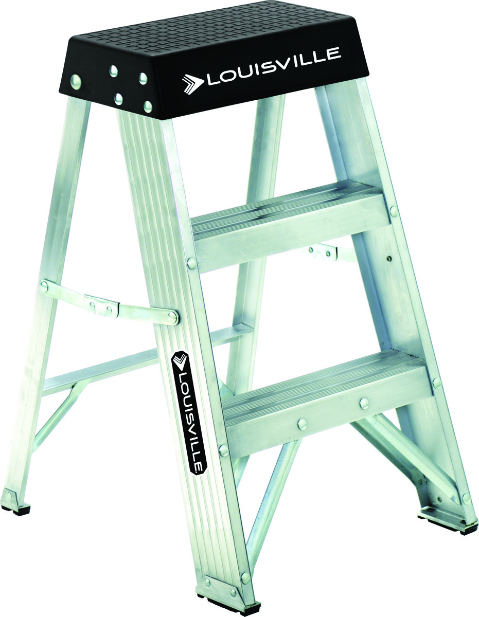Super Louisville Ladder As3002 Ladder Stp Al Typ1A 300 Pound 2Ft Squirreltailoven Fun Painted Chair Ideas Images Squirreltailovenorg